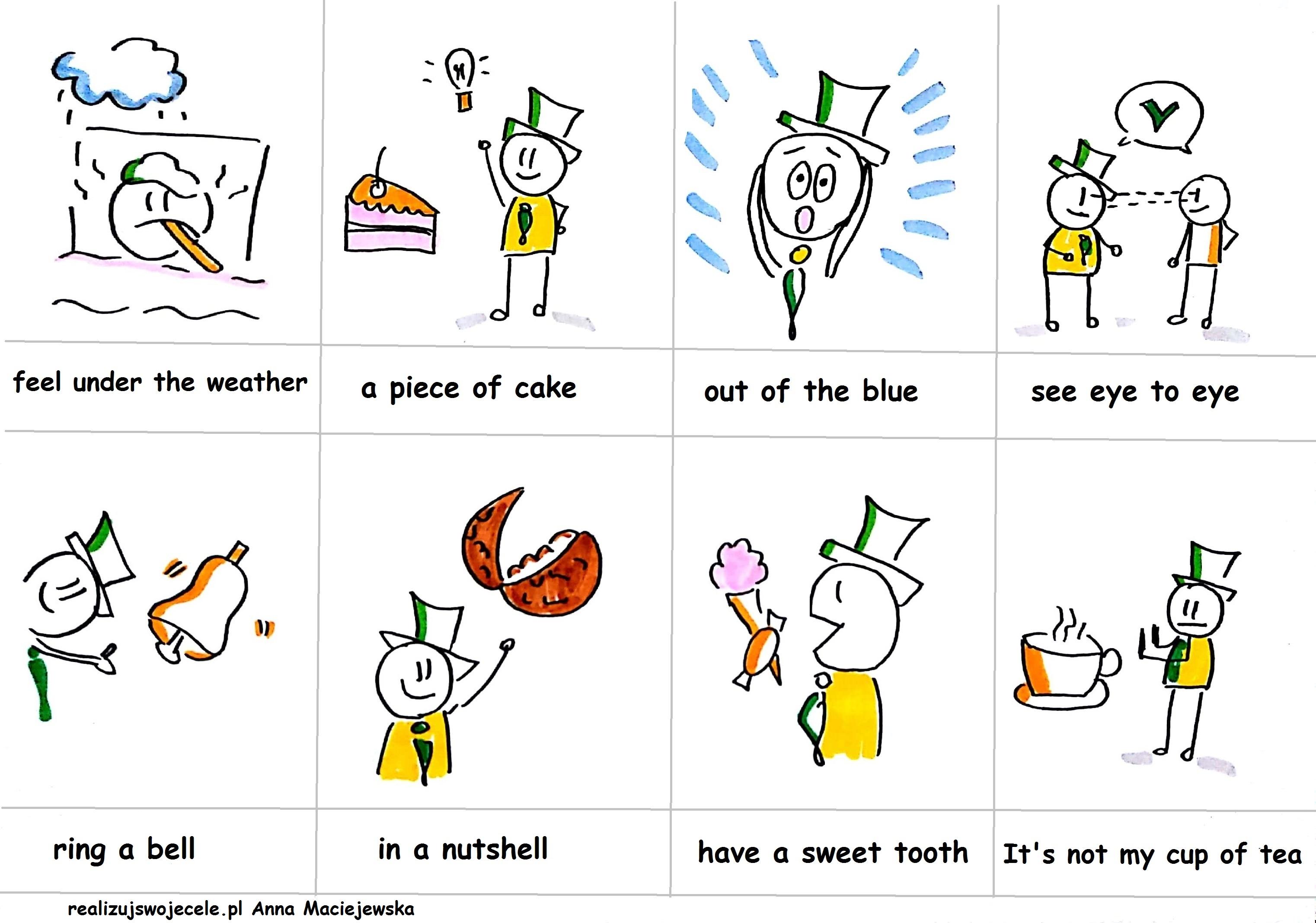 jak uczyć się angielskich idiomów