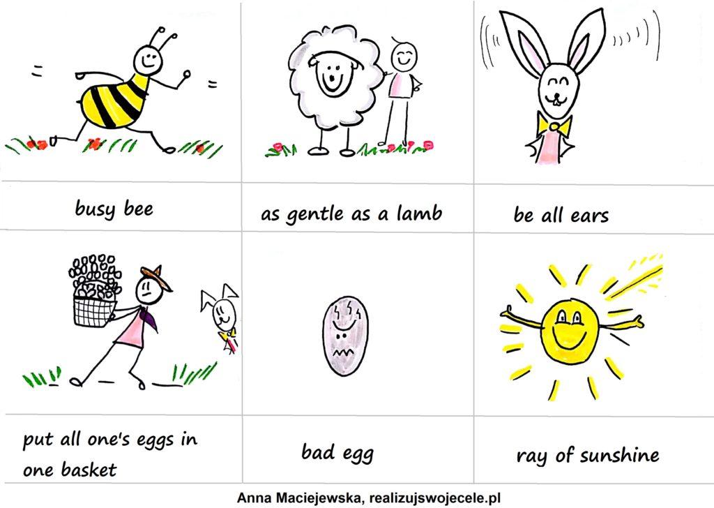 idiomy w języku angielskim