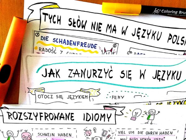 sketchnoting język angielski