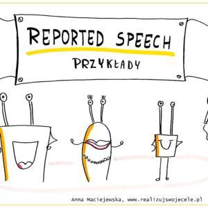 Mowa zależna w języku angielskim